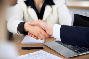 Picture of Shaking hands - Contract Negotiation Strategies for Nonprofits