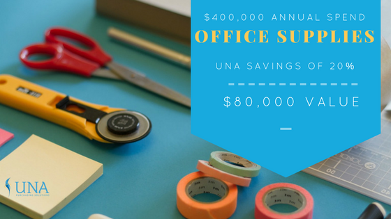 UNA GPO office supplies